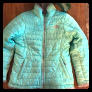 Girls north face winter jacket